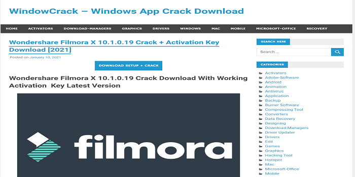 Wondershare Filmora Crack Download 9.6.1.8 Split Free Download And Install 2021 Trick +Code